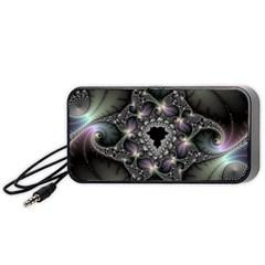 Magic Swirl Portable Speaker (black)