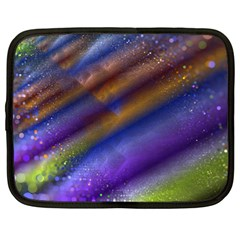 Fractal Color Stripes Netbook Case (xl)  by Simbadda