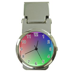 3d Rgb Glass Frame Money Clip Watches