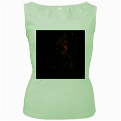 July 4th Fireworks Party Women s Green Tank Top by Simbadda