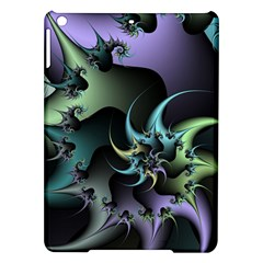 Fractal Image With Sharp Wheels Ipad Air Hardshell Cases by Simbadda