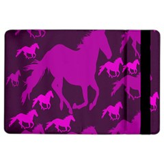 Pink Horses Horse Animals Pattern Colorful Colors Ipad Air 2 Flip by Simbadda