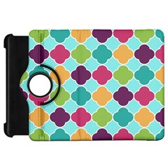 Colorful Quatrefoil Pattern Wallpaper Background Design Kindle Fire Hd 7  by Simbadda