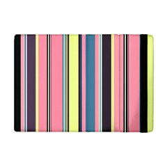 Seamless Colorful Stripes Pattern Background Wallpaper iPad Mini 2 Flip Cases by Simbadda