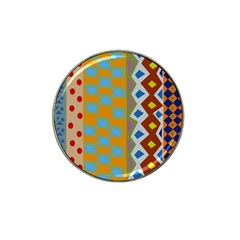 Abstract A Colorful Modern Illustration Hat Clip Ball Marker (10 pack) by Simbadda