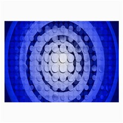 Abstract Background Blue Created With Layers Large Glasses Cloth (2 Side) by Simbadda