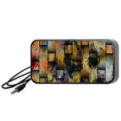 Fabric Weave Portable Speaker (black)