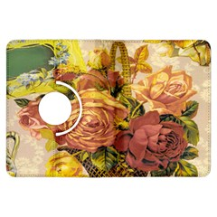 Victorian Background Kindle Fire HDX Flip 360 Case by Simbadda