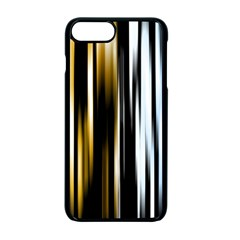 Digitally Created Striped Abstract Background Texture Apple iPhone 7 Plus Seamless Case (Black) by Simbadda