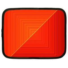 Abstract Clutter Baffled Field Netbook Case (xl)  by Simbadda