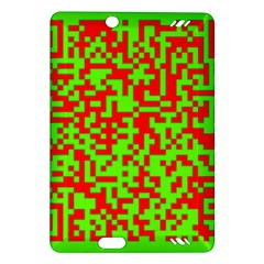Colorful Qr Code Digital Computer Graphic Amazon Kindle Fire Hd (2013) Hardshell Case by Simbadda