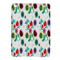 Lindas Flores Colorful Flower Pattern Ipad Air 2 Hardshell Cases by Simbadda
