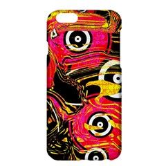 Abstract Clutter Pattern Baffled Field Apple iPhone 6 Plus/6S Plus Hardshell Case by Simbadda