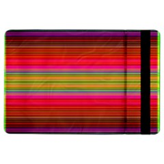 Fiesta Stripe Bright Colorful Neon Stripes Cinco De Mayo Background Ipad Air 2 Flip by Simbadda
