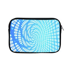 Abstract Pattern Neon Glow Background Apple Ipad Mini Zipper Cases by Simbadda