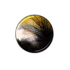 Tree Art Artistic Abstract Background Hat Clip Ball Marker (4 Pack) by Nexatart