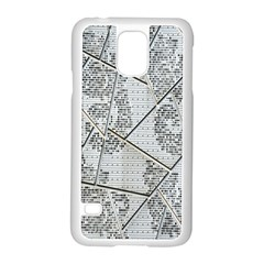 The Abstract Design On The Xuzhou Art Museum Samsung Galaxy S5 Case (white) by Nexatart