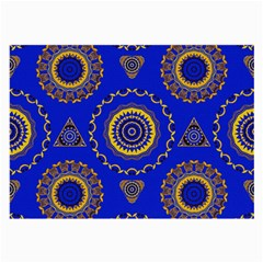 Abstract Mandala Seamless Pattern Large Glasses Cloth (2 Side)