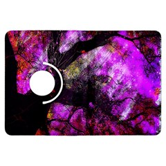 Pink Abstract Tree Kindle Fire HDX Flip 360 Case by Nexatart