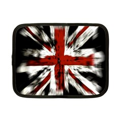 British Flag Netbook Case (small)  by Nexatart