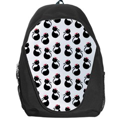 Cat Seamless Animals Pattern Backpack Bag by Nexatart