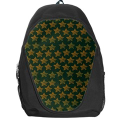Stars Pattern Background Backpack Bag by Nexatart