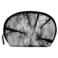 Trees Without Leaves Accessory Pouches (large)  by Nexatart