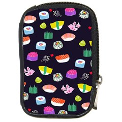 Japanese Food Sushi Fish Compact Camera Cases by Mariart