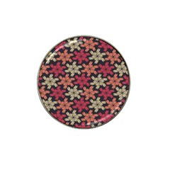 Floral Seamless Pattern Vector Hat Clip Ball Marker (4 Pack) by Nexatart