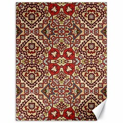 Seamless Pattern Based On Turkish Carpet Pattern Canvas 18  X 24   by Nexatart