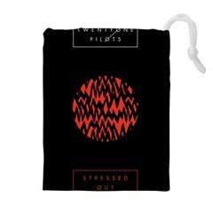 Albums By Twenty One Pilots Stressed Out Drawstring Pouches (extra Large) by Onesevenart