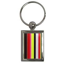 Stripe Background Key Chains (rectangle)  by Nexatart