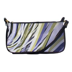 Wavy Ribbons Background Wallpaper Shoulder Clutch Bags
