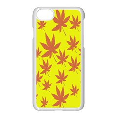 Autumn Background Apple Iphone 7 Seamless Case (white)