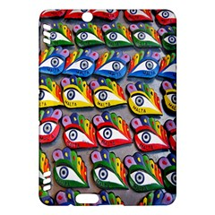 The Eye Of Osiris As Seen On Mediterranean Fishing Boats For Good Luck Kindle Fire HDX Hardshell Case by Nexatart