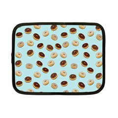 Donuts pattern Netbook Case (Small)  by Valentinaart