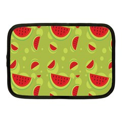Watermelon Fruit Patterns Netbook Case (medium)  by Onesevenart