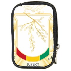 Coat Of Arms Of Republic Of Guinea  Compact Camera Cases by abbeyz71
