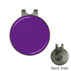 Pattern Violet Purple Background Hat Clips with Golf Markers by Nexatart