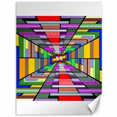 Art Vanishing Point Vortex 3d Canvas 36  X 48   by Nexatart