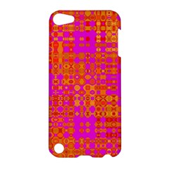 Pink Orange Bright Abstract Apple Ipod Touch 5 Hardshell Case by Nexatart