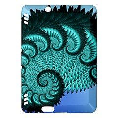 Fractals Texture Abstract Kindle Fire HDX Hardshell Case by Nexatart