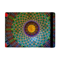 Temple Abstract Ceiling Chinese Ipad Mini 2 Flip Cases by Nexatart