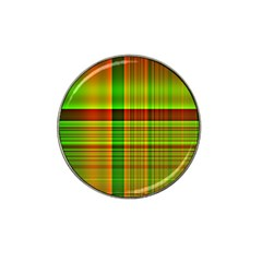 Multicoloured Background Pattern Hat Clip Ball Marker by Nexatart