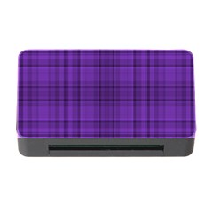 Plaid Design Memory Card Reader With Cf by Valentinaart