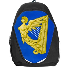 Coat Of Arms Of Ireland, 17th Century To The Foundation Of Irish Free State Backpack Bag by abbeyz71