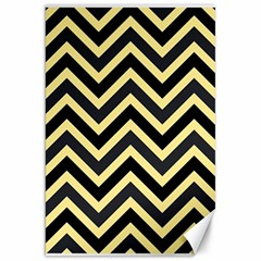 Zigzag pattern Canvas 20  x 30   by Valentinaart
