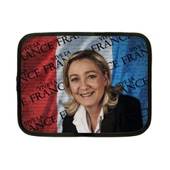 Marine Le Pen Netbook Case (Small)  by Valentinaart