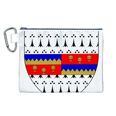 County Tipperary Coat Of Arms  Canvas Cosmetic Bag (l) by abbeyz71