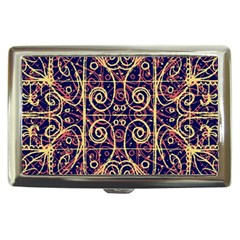 Tribal Ornate Pattern Cigarette Money Cases by dflcprints